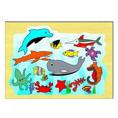 Safari Hewan Laut - [Best Seller] Aneka Puzzle Dapat 3 Pcs