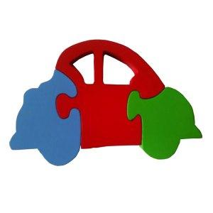 puzzle cat mobil - Cara Asik Mengajar Anak Mengenal Warna