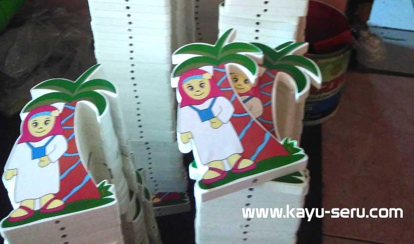 Plakat manasik sudah siap - Piala Manasik Haji - Plakat Manasik Haji Untuk PAUD / TK