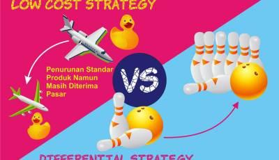 strategi bisnis - Strategi Bisnis, Mau Pakai Low Cost Atau Differential?