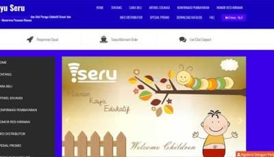 web kayu seru - Belajar Dari Rekan Seprofesi Hingga Membuat Website - Memulai Bisnis (3)