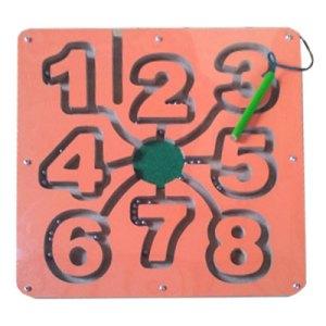 Maze Magnet Angka - Maze Magnet Angka