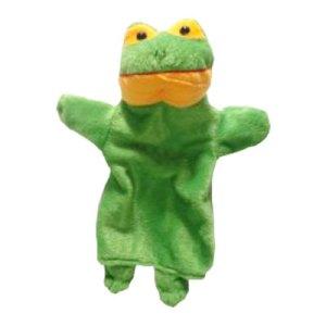 boneka tangan katak - Boneka Tangan Katak