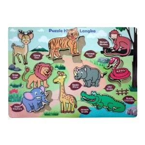 puzzle hewan langka - Puzzle Hewan Langka