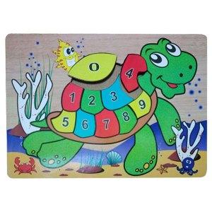 puzzle kura kura angka - Plakat Manasik PAUD Lengkap Dengan Nama Siswa