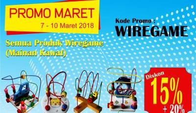 wiregame promo - Promo Mainan Wiregame Diskon Sampai Dengan 35%