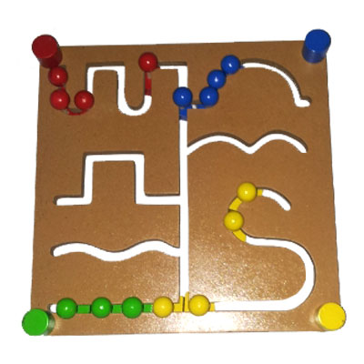 maze dua muka - Maze Geometri Dua Muka