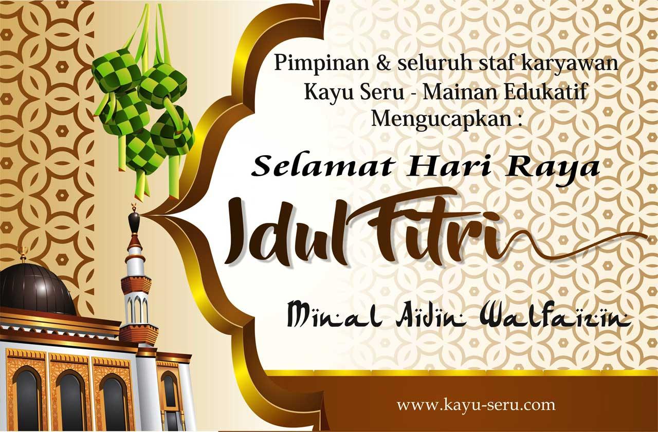 Selamat Hari Raya Idul Fitri 1439 Hijriah Kayu Seru