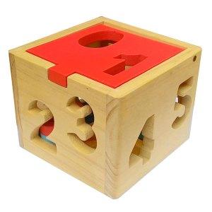mainan kayu kotak angka 1 9 - Kotak Angka 0-9