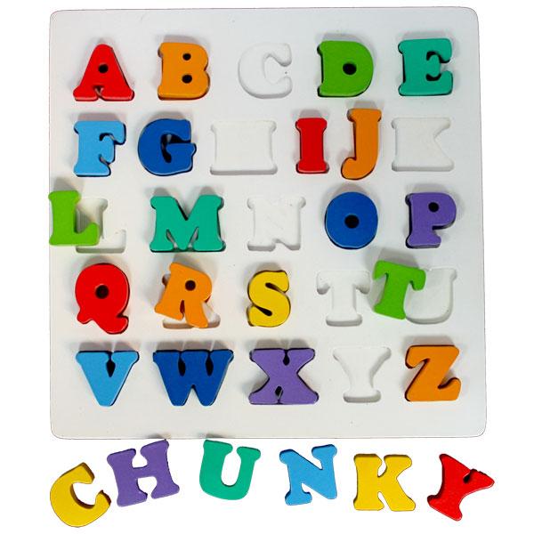 puzzle chunky abjad besar - Puzzle Chunky Abjad Besar