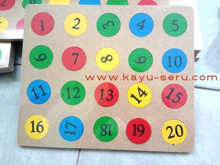 puzzle koin custom - Pesanan Custom Puzzle Koin Warna Warni dan Sablon Angka