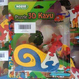 Puzzle Keong 3D - Puzzle Keong 3D