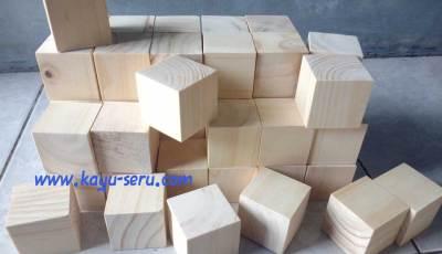 kubus 4cm kayu pinus - Membuat Kubus 4cm Kayu Pinus Ukuran Custom