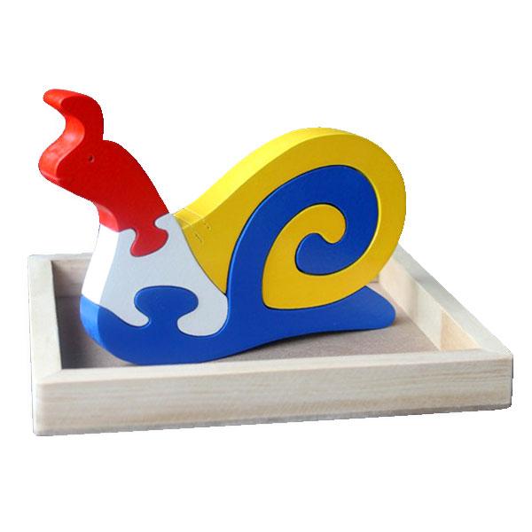 puzzle keong - Puzzle Keong 3D