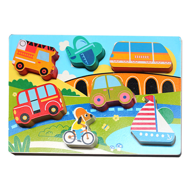 Puzzle Tebal Transportasi - Puzzle Tebal Transportasi
