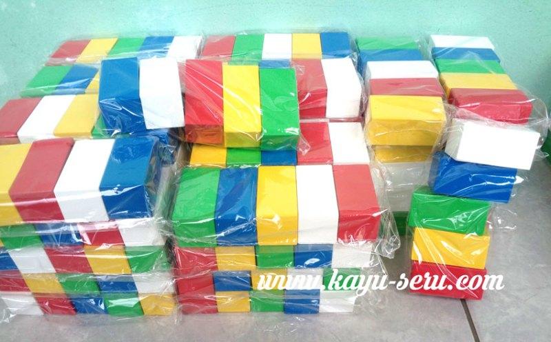 balok susun warna - Membuat Balok Susun Kubus Warna Pesanan Custom