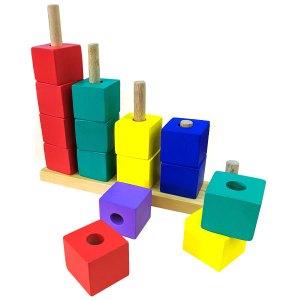 Menara bertingkat Kotak - Menara Persegi Bertingkat