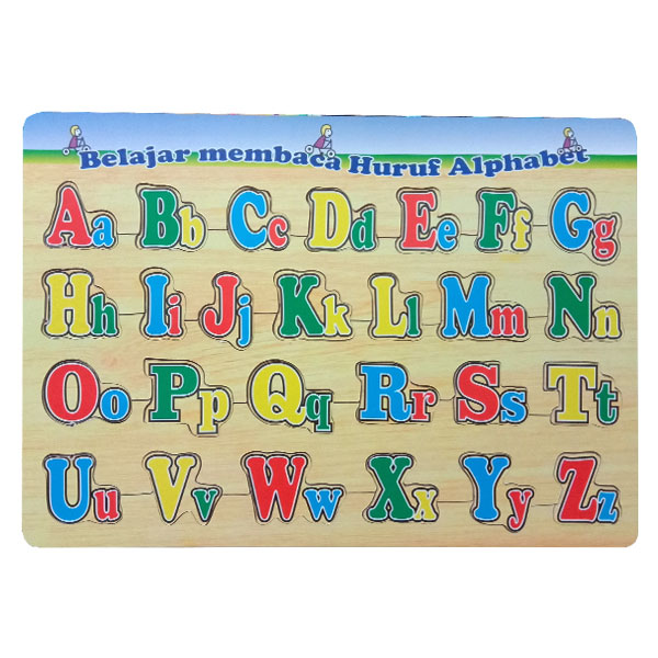 puzzle huruf besar kecil - Puzzle Huruf Besar - Kecil