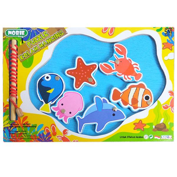 puzzle kolam mancing - Puzzle Mancing Kolam