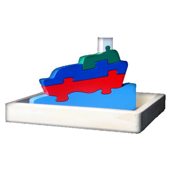 puzzle perahu - Puzzle Perahu 3D