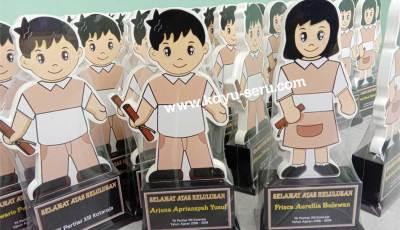 plakat kelulusan tk pratiwi - Membuat Plakat Kelulusan Untuk TK Pertiwi Kotaraja Papua