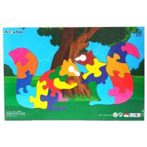 puzzle gambar tupai - Puzzle Gambar Tupai