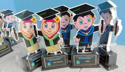 wisuda sps kenanga - Plakat Kayu Hadiah Wisuda Siswa SPS Kenanga Tangerang
