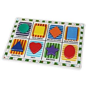 puzzle chunky 8 bentuk - Puzzle Chunky 8 Bentuk