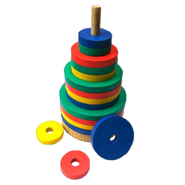 menara warna bulat - Menara Warna Bulat