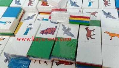 kartu kayu warna - Membuat Kartu Kayu Gambar dan Warna