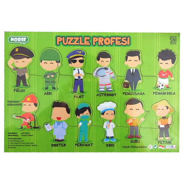 Puzzle Seri Profesi - Puzzle Seri Profesi