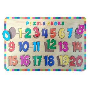 pzl angka 0 20 - Puzzle Angka 0 - 20