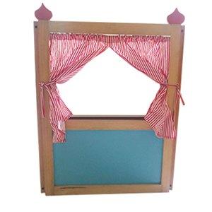 Panggung Boneka Lipat - Pembuatan Plakat Kayu untuk Kelulusan TKIT Darul Ulum