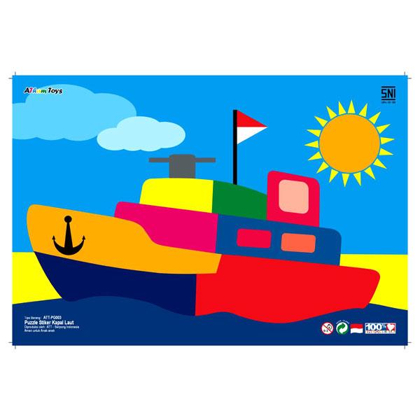 Puzzle Kapal Laut - Puzzle Kapal Laut