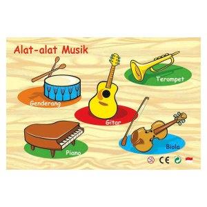 puzzle alat musik