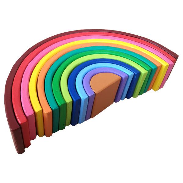 rainbow stacker 12