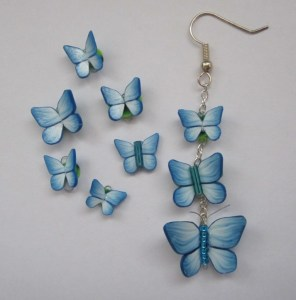 blue basic butterflies