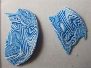 cool sort of mokume gane-ish water pattern