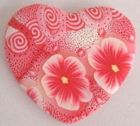pink heart pendant 2