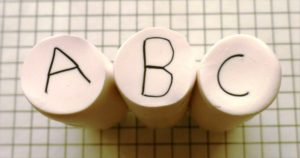 polymer clay alphabet letter canes