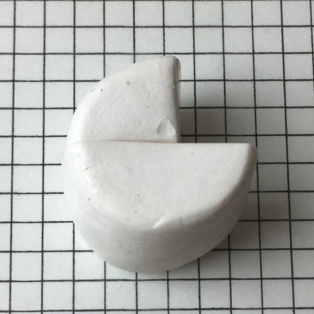 Letter G polymer clay alphabet cane - step 06