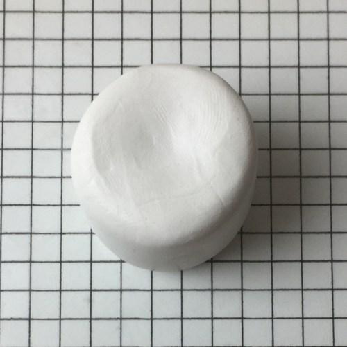 letter K polymer clay alphabet cane tutorial - cylinder