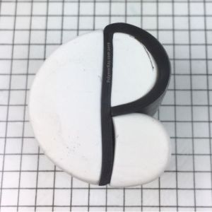 Letter P polymer clay cane - pieces - KayVincent