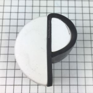 P cane - wrap with black - KayVincent