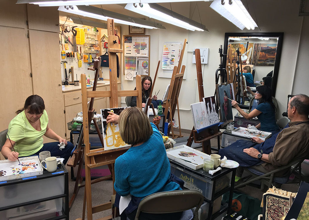 Kay Witherspoon Fine Art adult oil painting classes and workshops in SE Denver, Colorado