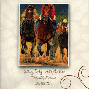 Kay Witherspoon, featured artist at the Kentucky Derby Event sponsored by The Wildlife Experience Museum in Parker, Colorado