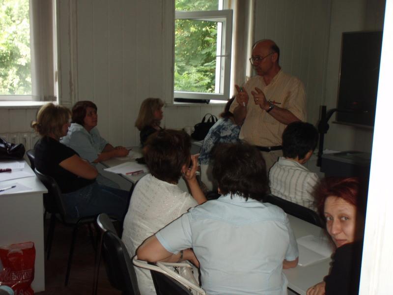 Ken and teachers