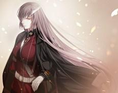 konachan-com-226651-bandage-eyepatch-fate_grand_order-fate_series-florence_nightingale-gloves-gray_hair-long_hair-porigon-red_eyes-uniform-waifu2x