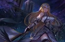 konachan-com-234675-animal-aqua_eyes-armor-bird-blonde_hair-breasts-building-chain-dark-elbow_gloves-fate_series-gloves-headdress-long_hair-petals-sword-weapon