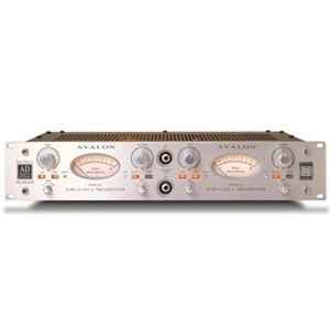Avalon Ad2022 Dual Class-A Microphone Preamp